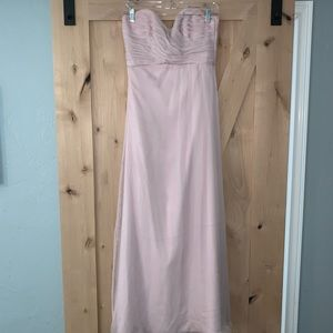 Amsale Opal (pinkish/purple) bridesmaid dress
